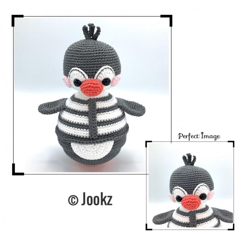 Garen en fournituren pakket Tuimelaar Pinguïn