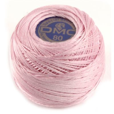 DMC 80 Dentelles haakgaren 605 roze