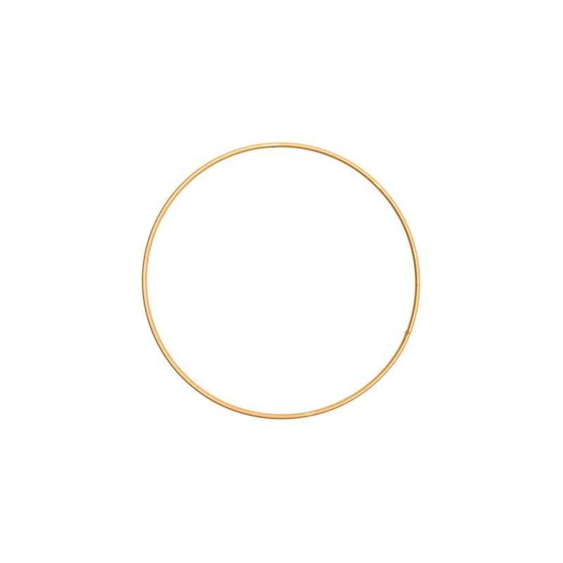 Rico Metalen ring 15cm Donkergoud