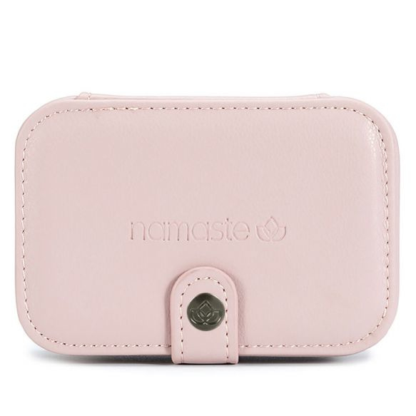 Namaste Buddy Case klein  11,7 x 7,8 x 4,6cm Roze - Blush