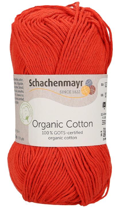 SMC Organic Cotton 00030 Red