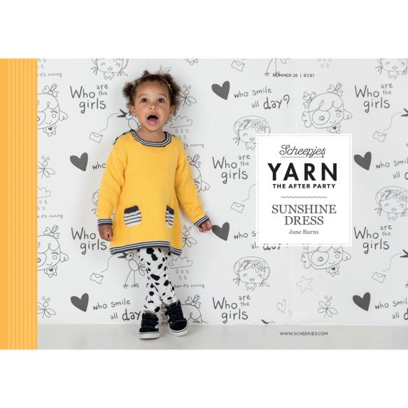 Yarn, the after party Patroon Sunshine Dress nr 28