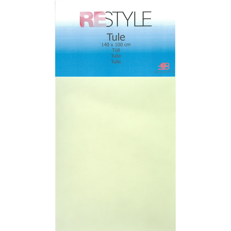 Tule Creme 140x100cm Restyle