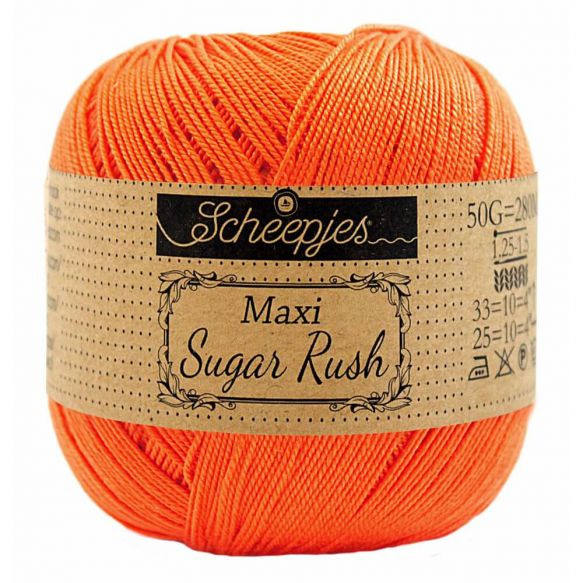 Scheepjes Maxi Sugar Rush 189 Royal Orange