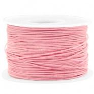 Waxkoord 1 mm Pink