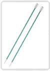 KnitPro Zing breinaald 8,00 mm met knop 40cm