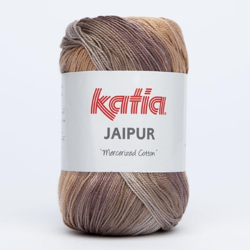 Katia Jaipur 208 Beige-Bruin