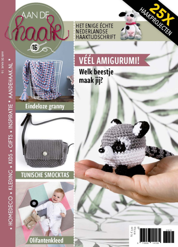Aan de haak 16 Gifts en treasures