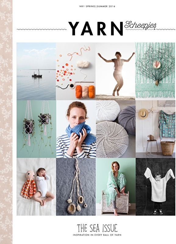 Yarn The Sea issue Scheepjes magazine