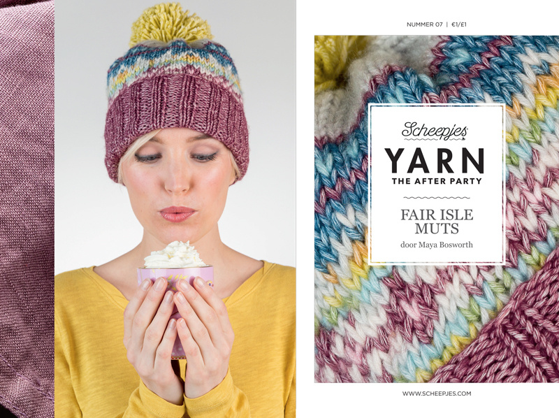 Yarn, the after party Patroon Fair Isle Hoed nr 7 (kooppatroon)