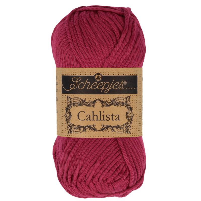 Scheepjes Cahlista 517 Ruby