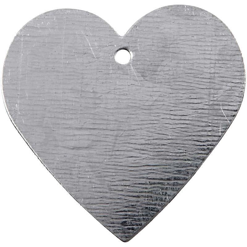 Metalen hart met oogje