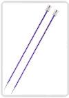 KnitPro Zing breinaald 7,00 mm met knop 40cm
