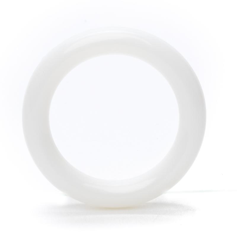 Plastic Ringetje 40mm Wit