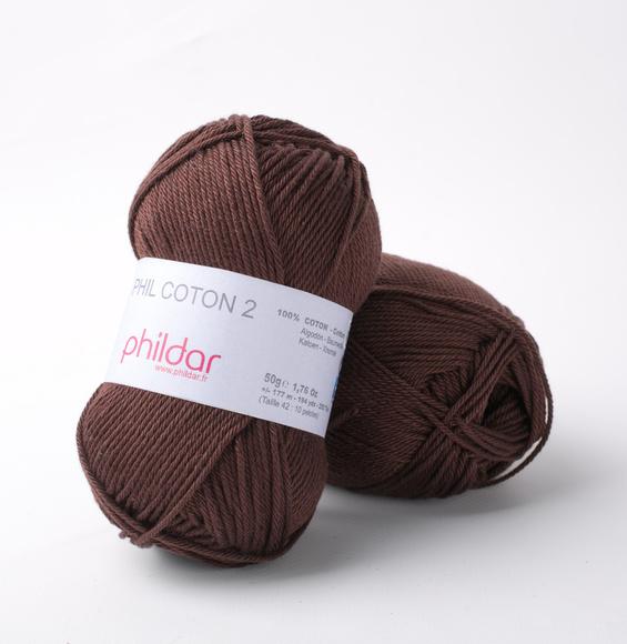 Phildar Coton 2 Marron