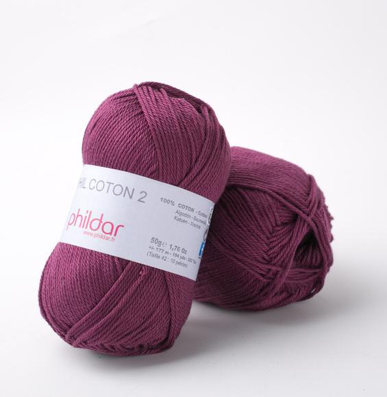 Phildar Coton 2 Prune