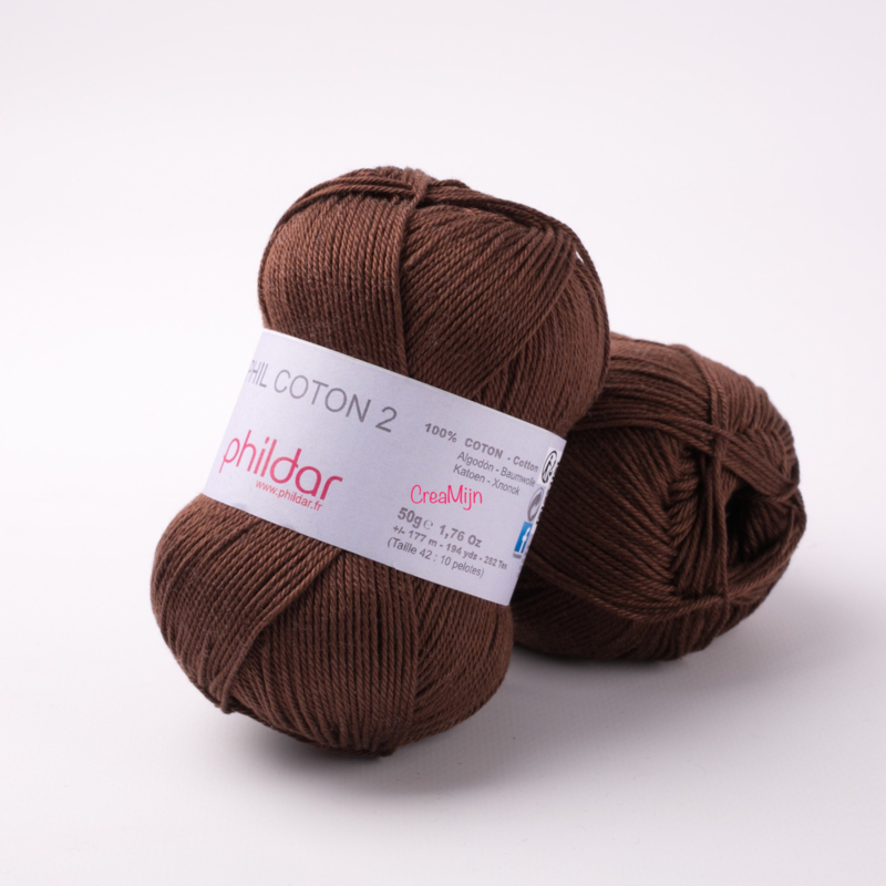 Phildar Coton 2 Cacao 0081