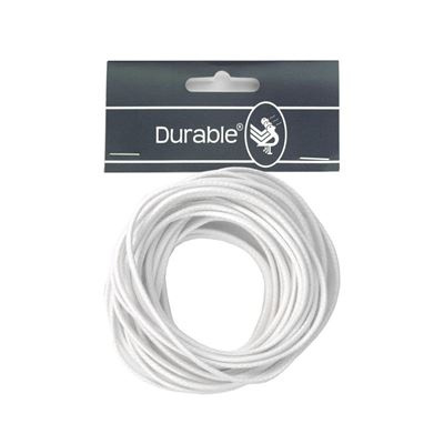 Durable Waxkoord 2mm - 5 meter - WIT