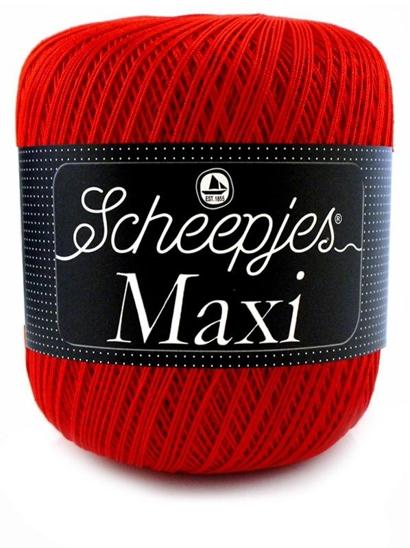 Scheepjeswol maxi 115 Red Rood