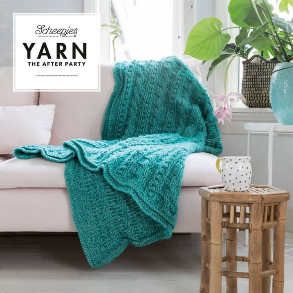 Yarn, the after party Patroon Popcorn & Cables Blanket nr 24