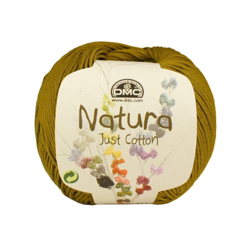 DMC Natura Just Cotton N74 Curry