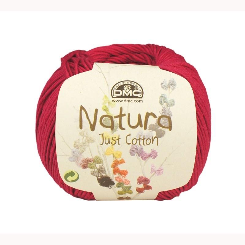 DMC Natura Just Cotton N61 Crimson