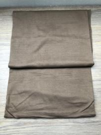 boordstof bruin/zand kleur