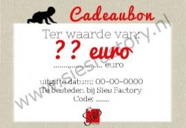 CADEAUBON T.W.V 5 EURO