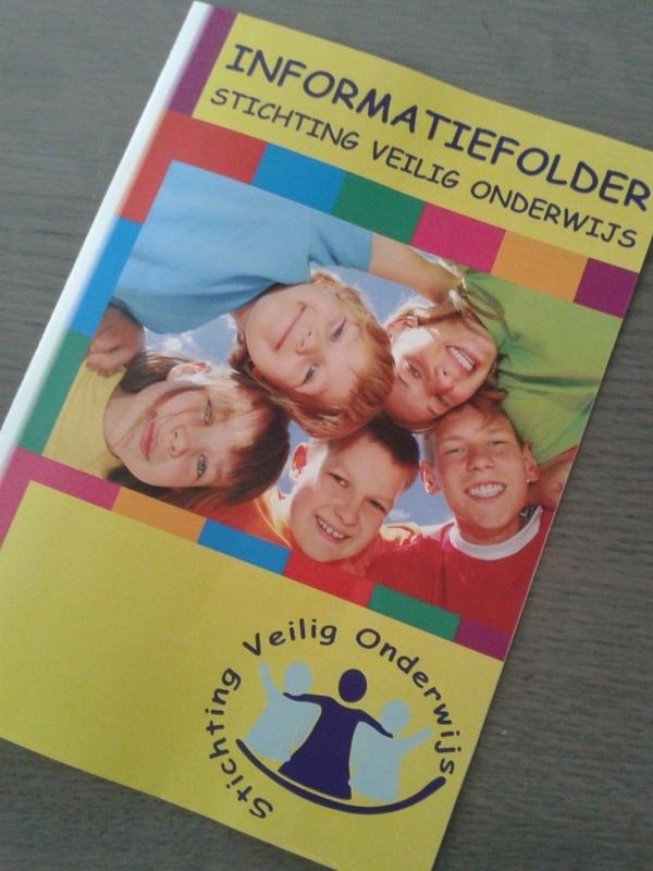 Folder 'Veilig onderwijs'