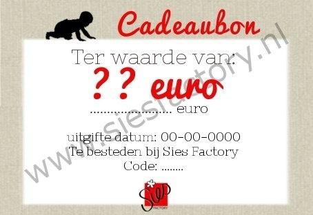 CADEAUBON T.W.V 10 EURO