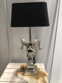 Lamp Steenbok  zilver