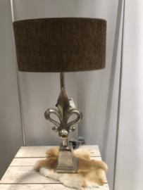 Lamp lely zilver
