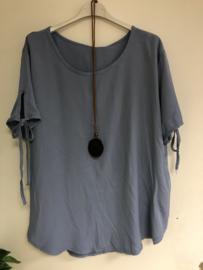 blouse francis blauw