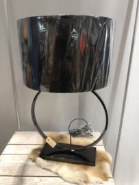 Lamp Zwart ronde uitvoering