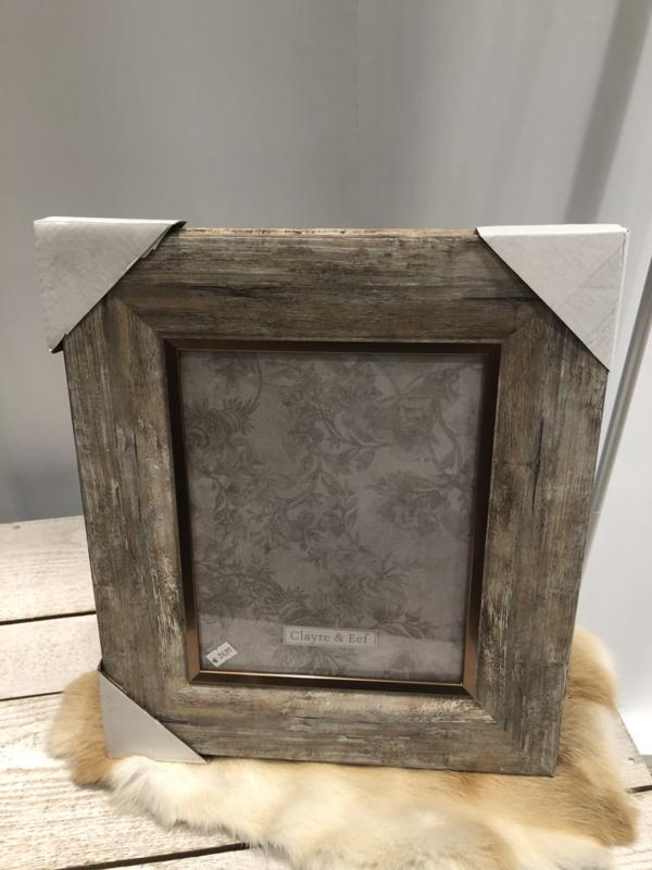 Foto lijst hout groot
