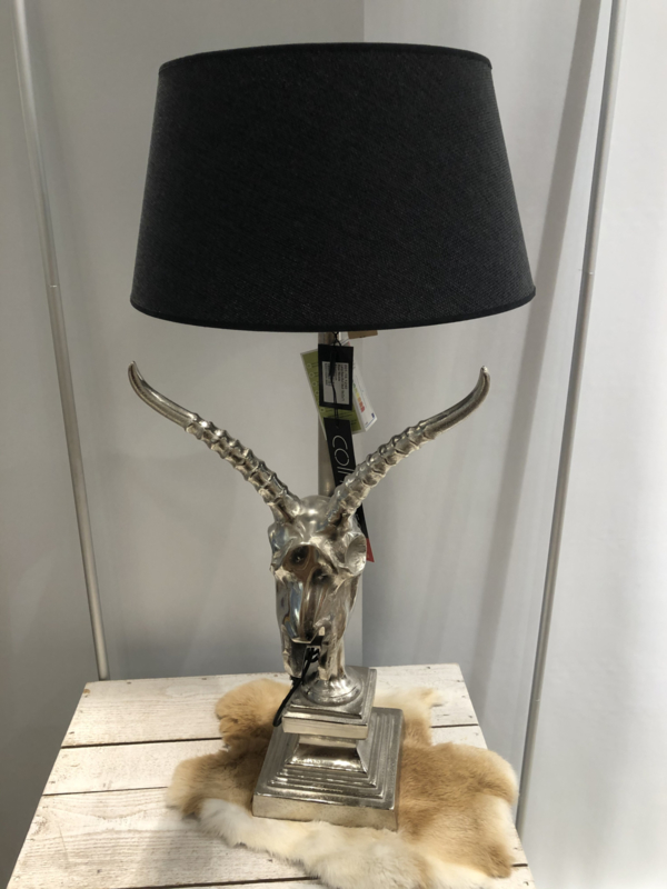 Lamp gemmes zilver