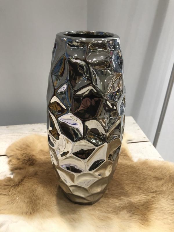 Vaas zilver Dicht model