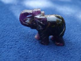 Fluoriet olifantje FL33