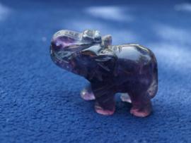 Fluoriet olifantje FL34