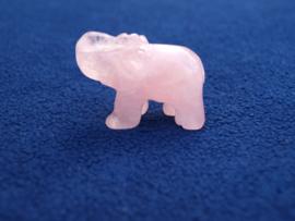 Rozenkwarts olifantje RO44