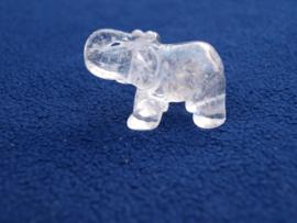 Bergkristal olifantje BE50