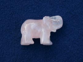 Rozenkwarts olifantje RO48