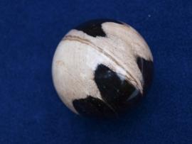 Versteend hout, bol 7 cm. VHB7