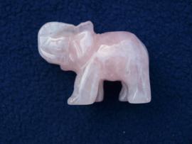 Rozenkwarts olifantje RO47