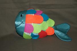stoffen vis, multicolor
