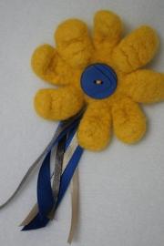 broche bloem gevilt