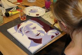 Schilder je eigen portret in popart stijl!