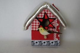 vogelhuisje met muziekdoosje