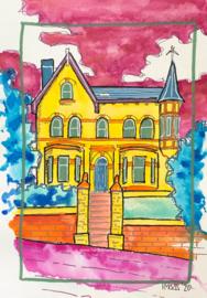 aquarel Huis 2