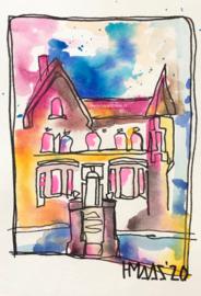 Schilderij huis 1